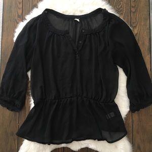 ON sheer blouse